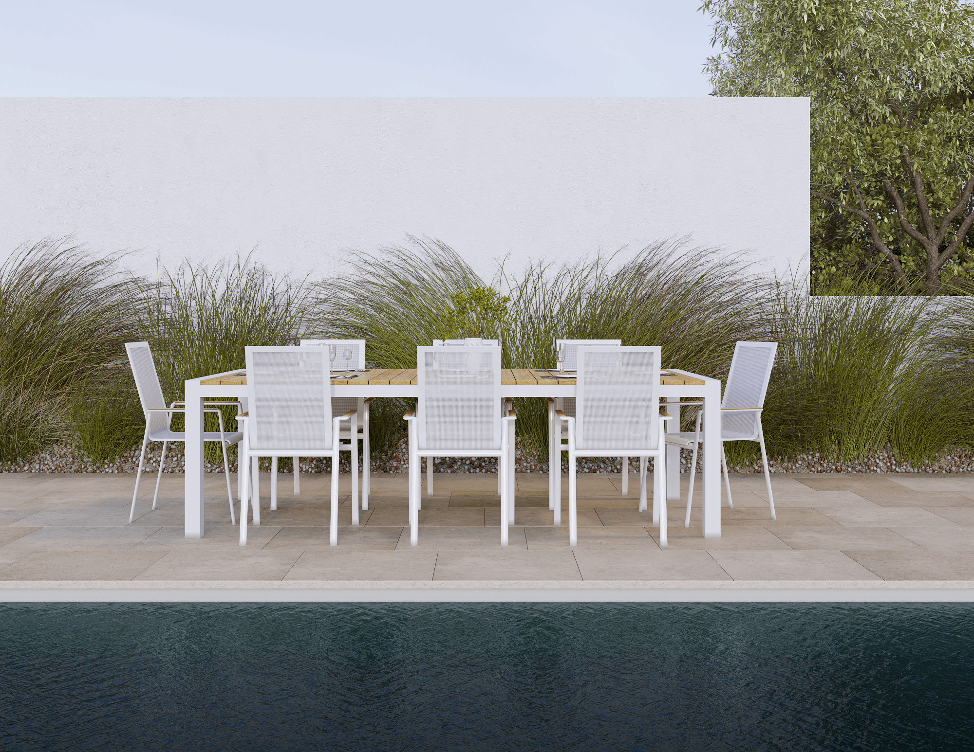 42++ Modern outdoor dining table set Best
