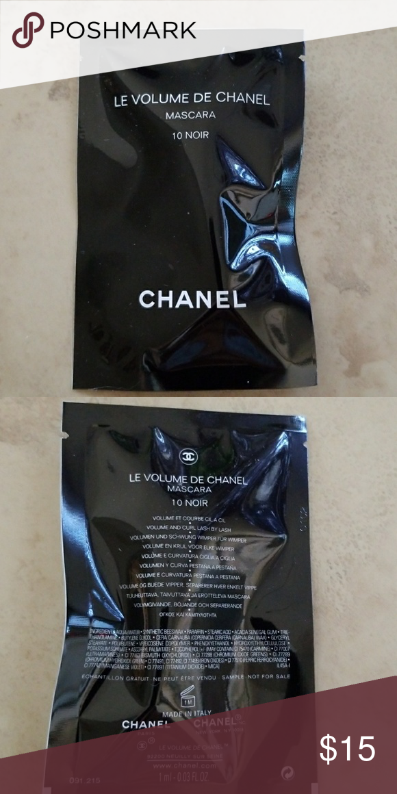 40e48757c81 Authentic Le Volume De Chanel Mascara NWT Brand new. Sealed and unopened.  Perfect size for travel CHANEL Makeup Mascara