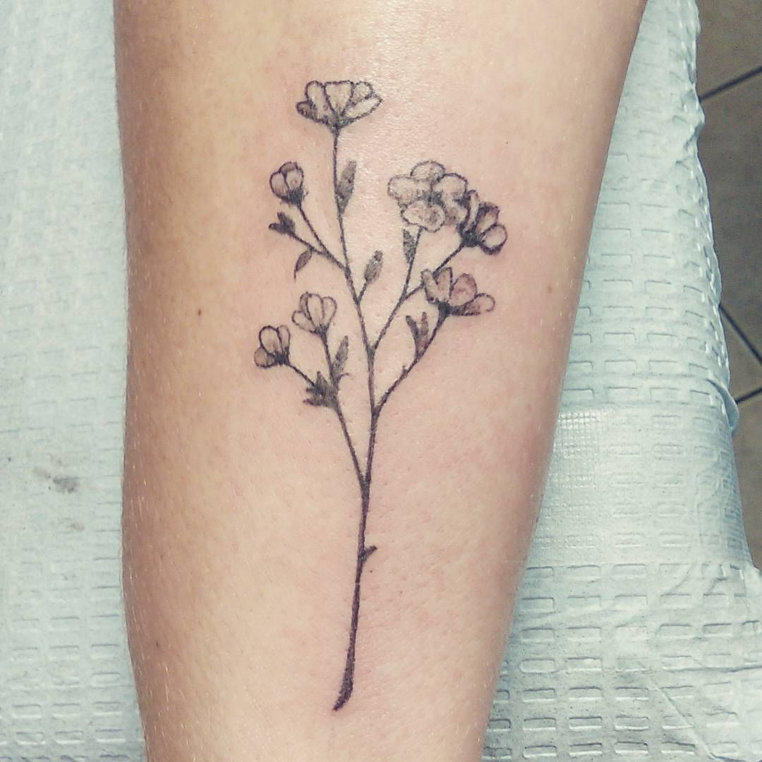 5b2274857 Tiny buttercup flowers I did today on a wrist. #wildflowers #tinytattoo  #flowertattoo