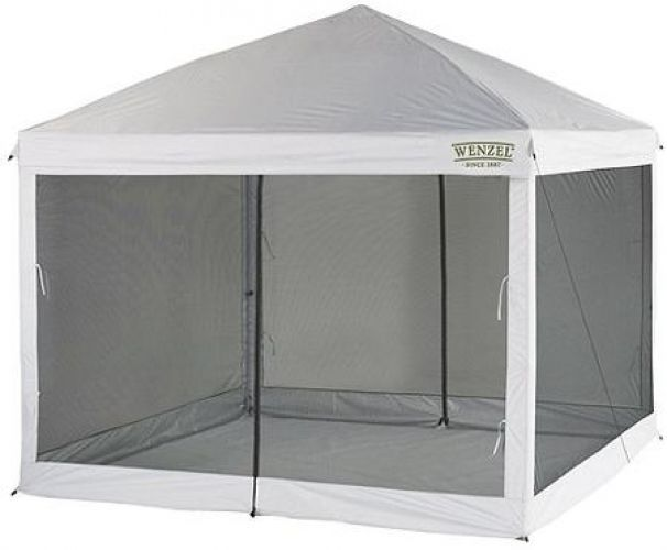 Screen Tent Canopy 10x10 Shelter Enclosure Gazebo Room Bug Netting Screenhouse Screen House Screen Tent Shade Screen