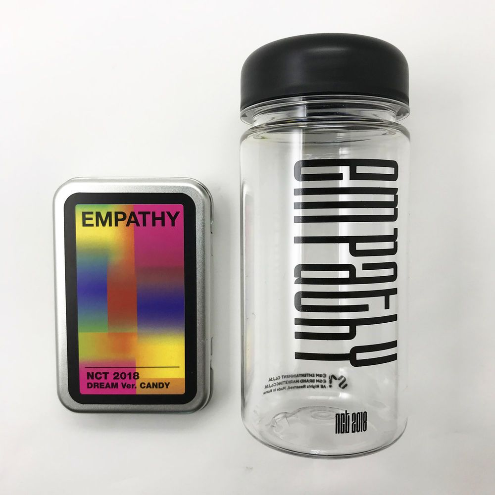 SM Town Coex SUM Cafe [NCT 2018] NCT EMPATHY Official Bottle