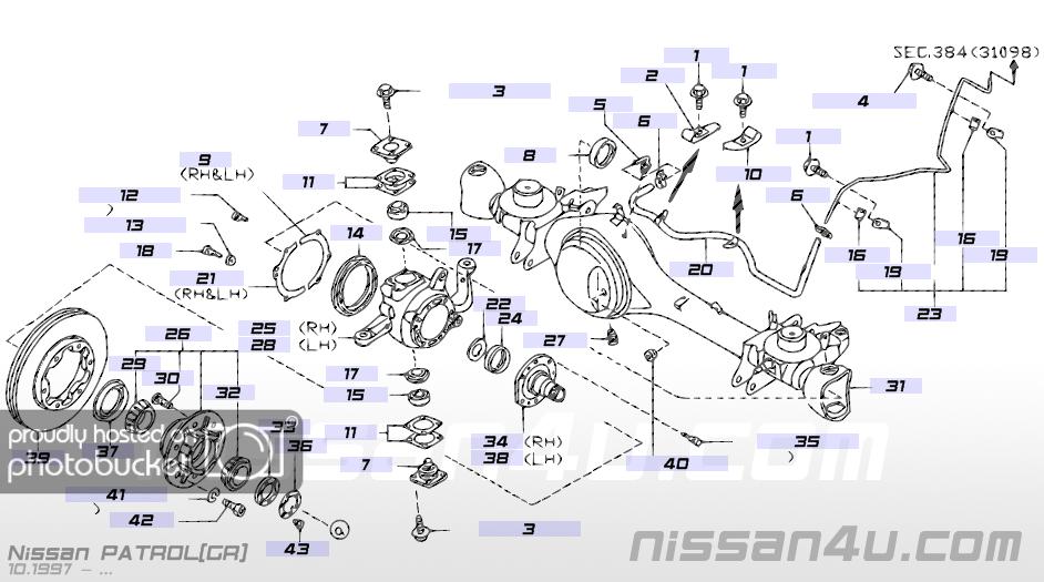 Nissan 1400 Diff Diagram  8