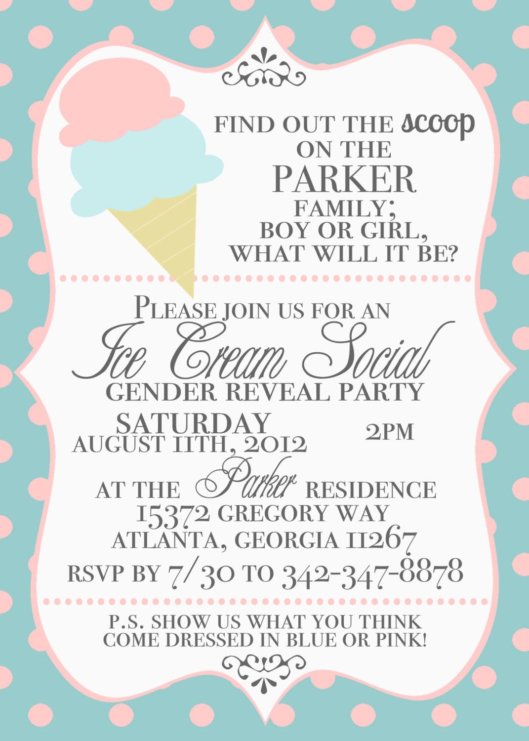 Free gender reveal baby shower party printables from printabelle free gender reveal baby shower party printables from printabelle baby shower printables gender reveal and babyshower stopboris Images