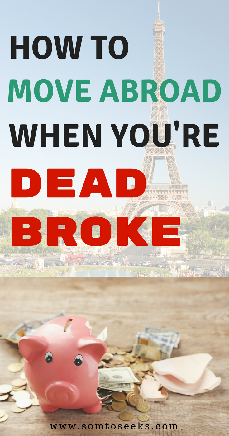 How to move abroad when you're broke: tips for tra