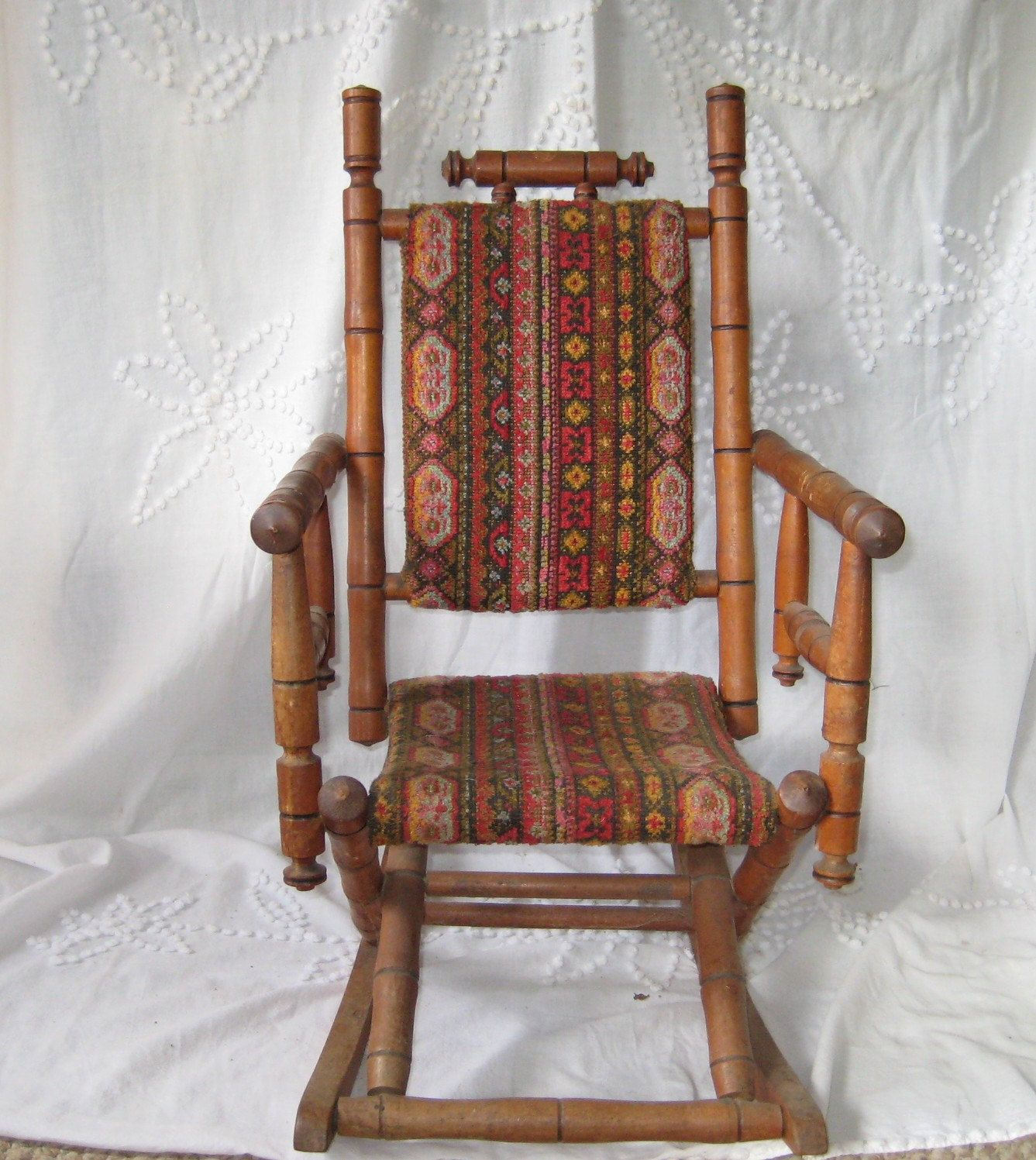 Antique Rocking Chair Childs rocking chair by EndlesslyVintage - Antique Rocking Chair Childs Rocking Chair By EndlesslyVintage I