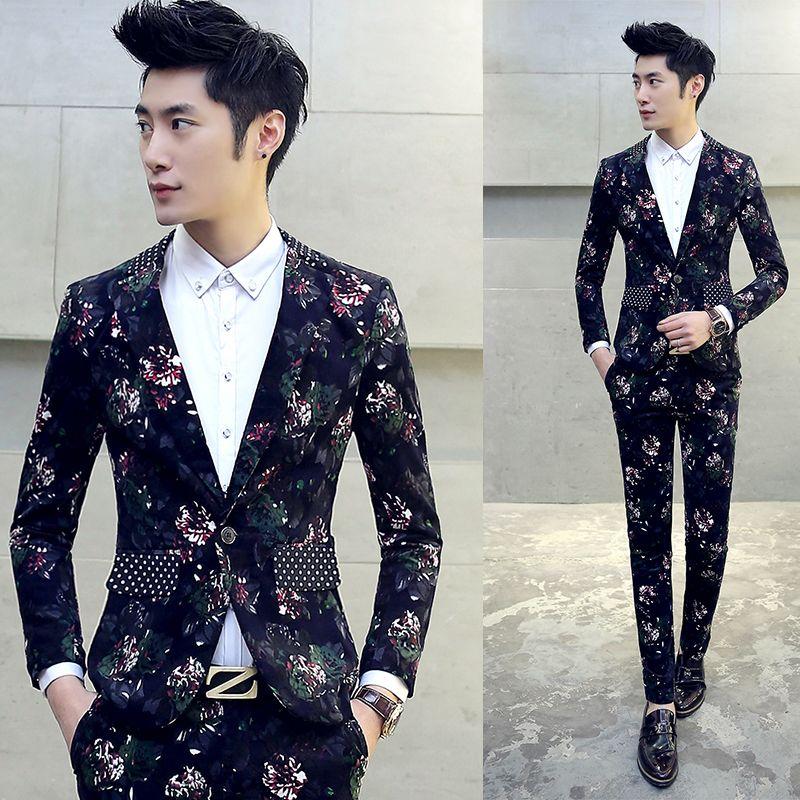 Costume homme tuxedo mens prom suits trajes de hombres de vestir ...