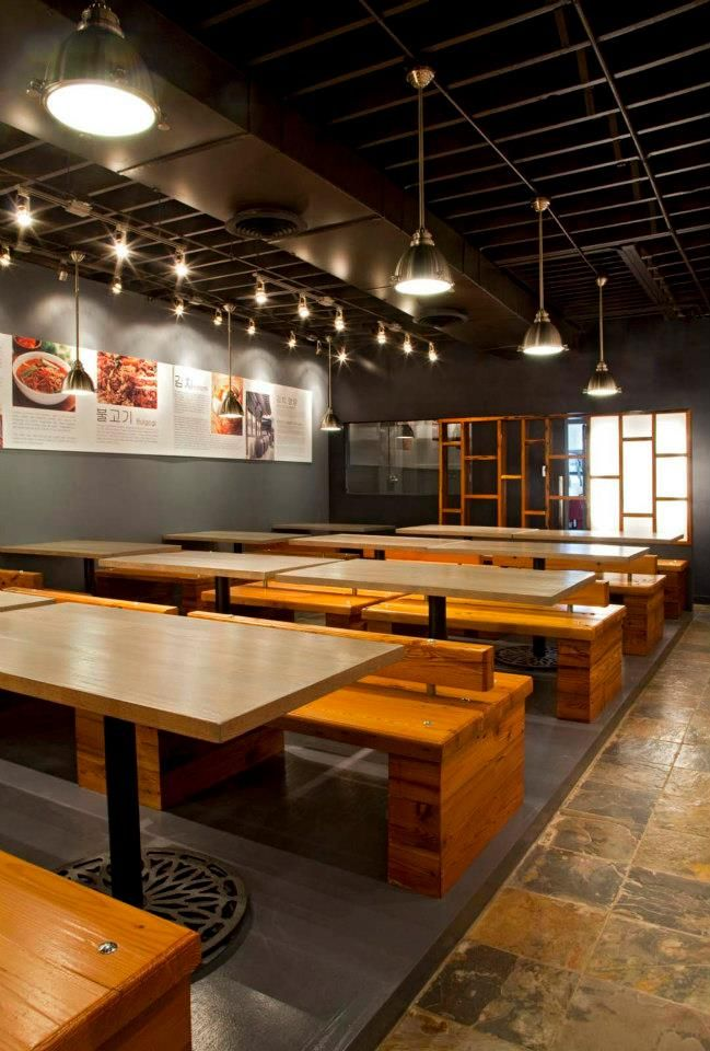 Ajoomah 39 s apron is the first traditional korean restaurant for Interior design chicago