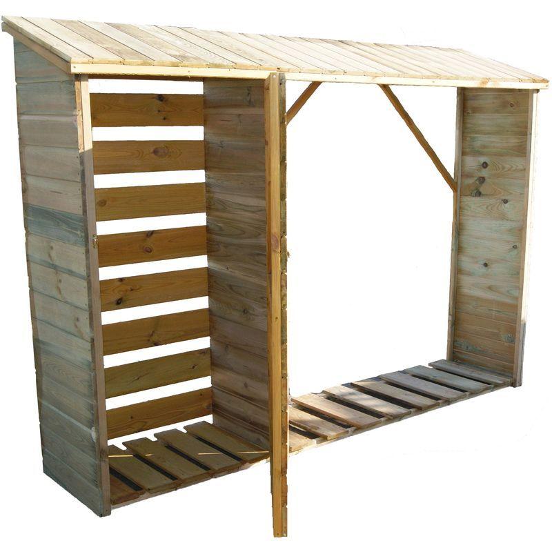 Abri A Buches Et Range Buches Exterieur Home Loft Home Decor