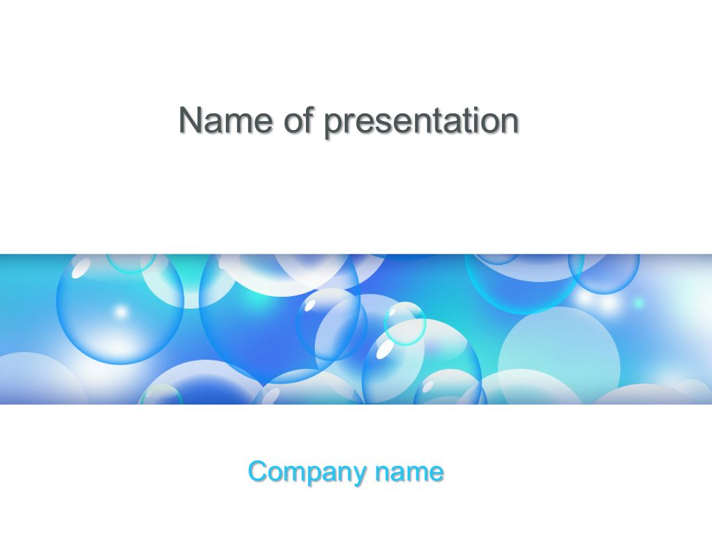 Liquid Bubbles Powerpoint Theme This Beautiful And Creative Powerpoint Theme Will Be A Great Choice For Presentation Powerpoint Templates Powerpoint Templates