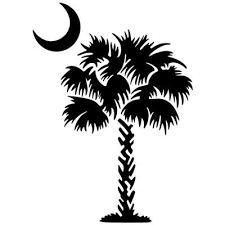 Image Result For South Carolina Flag Silhouette Palmetto Tree South Carolina Tattoo Palmetto Moon