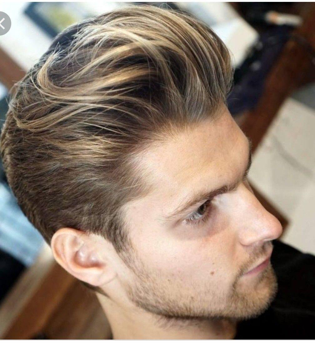 Man Hair Highlight Men Hair Highlights Men Blonde Hair Brown Hair Men
