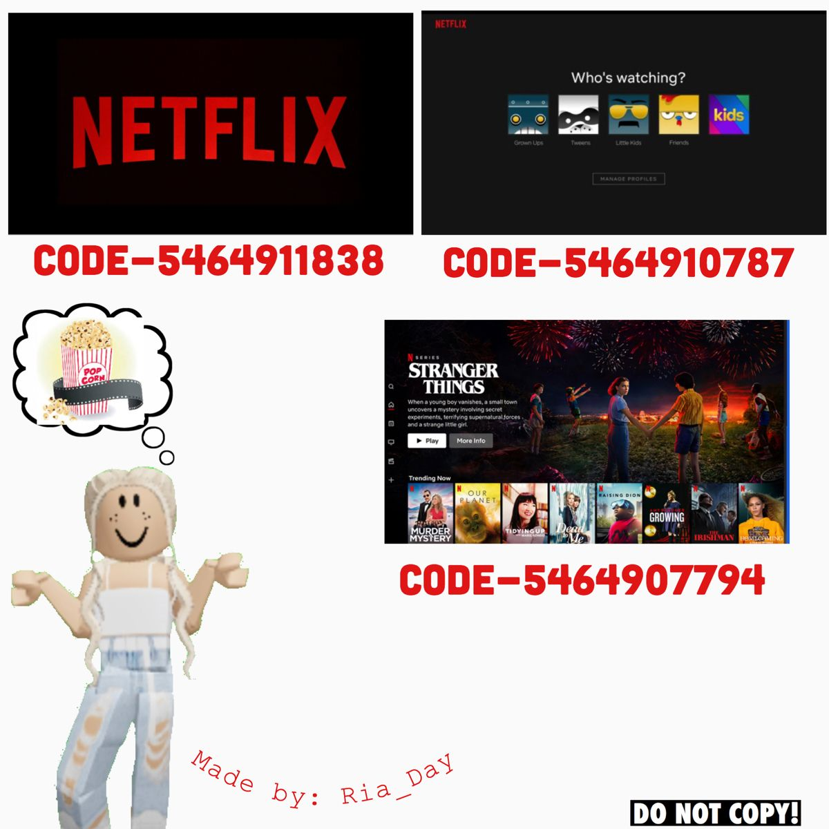 Roblox Codes Pictures