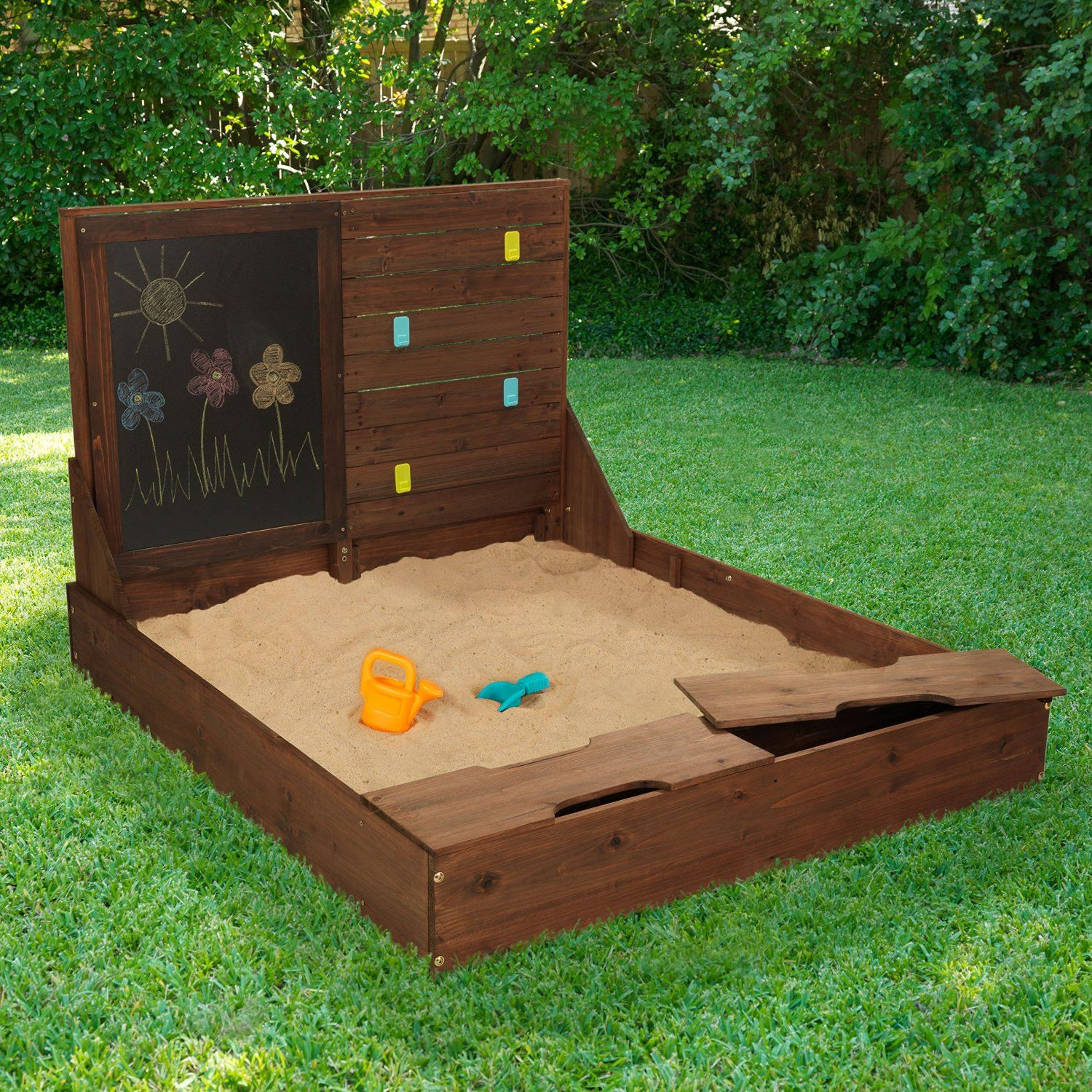 activity sandbox bring the beach to your backyard with this fun