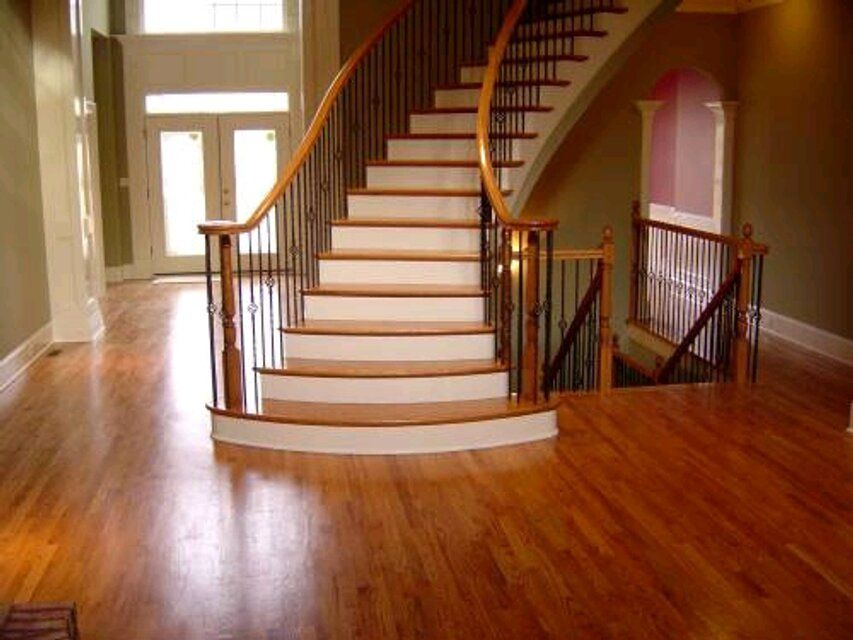 Cannot Wait To Have Hardwood Floors And Can I Just Say These Staircases Are To Die For Hardwood Floors Wood Floors Installing Hardwood Floors