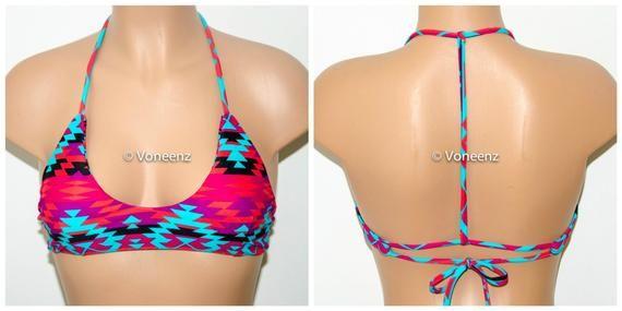 d2ad7aac9e86e PADDED T-Back Bikini Top