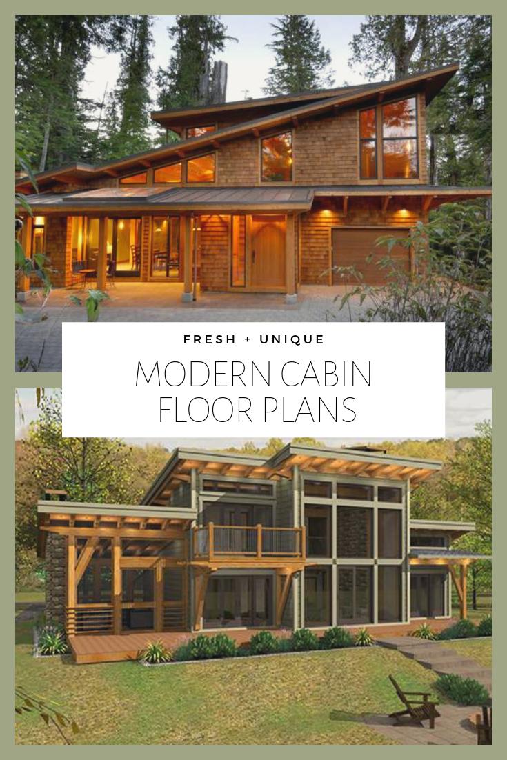 Modern Cabin Floor Plans Modern Cabin Cabin Floor Plans Modern Log Cabins