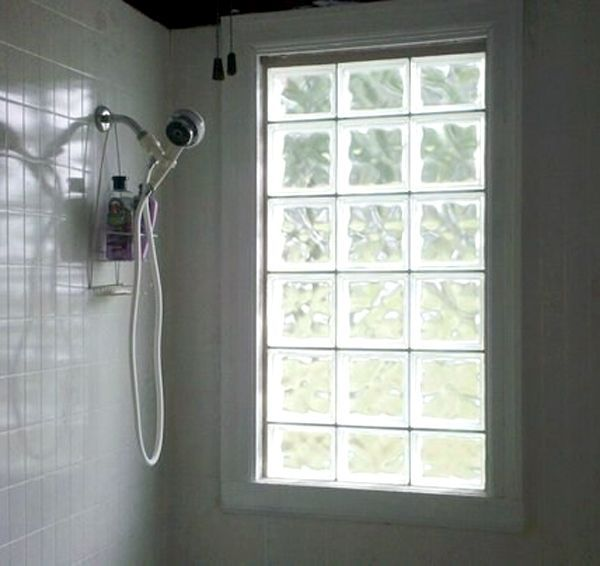 Patterns and designs in glass blocks help provide added for Glass block window design ideas