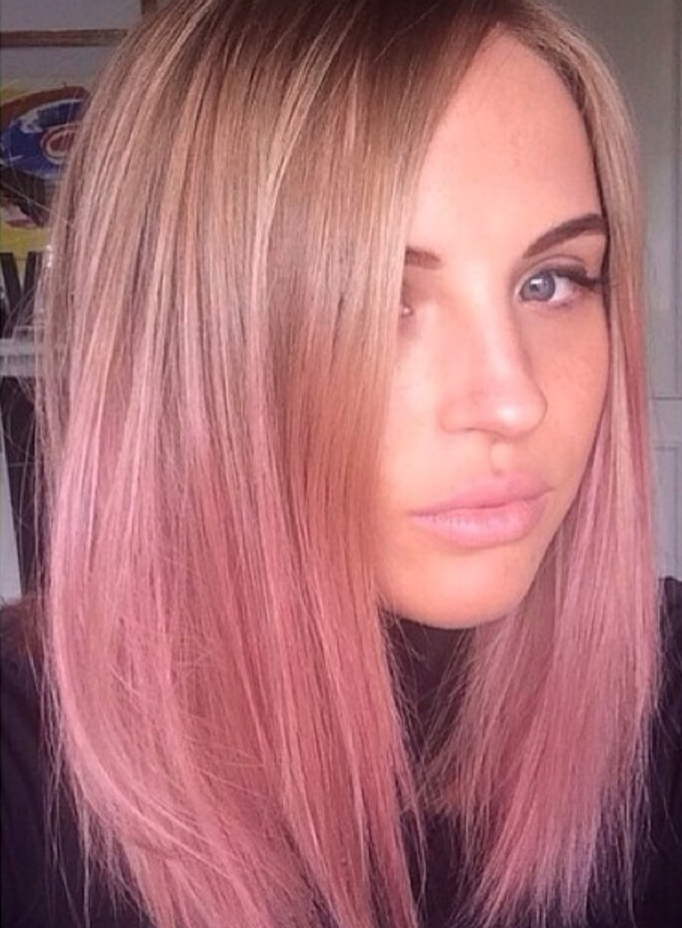 37+ Pink ombre on blonde hair ideas in 2021