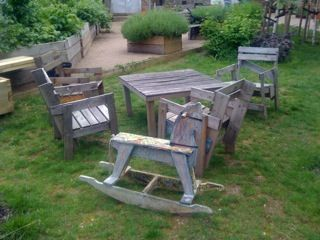 reclaimed wooden furniture @Barti