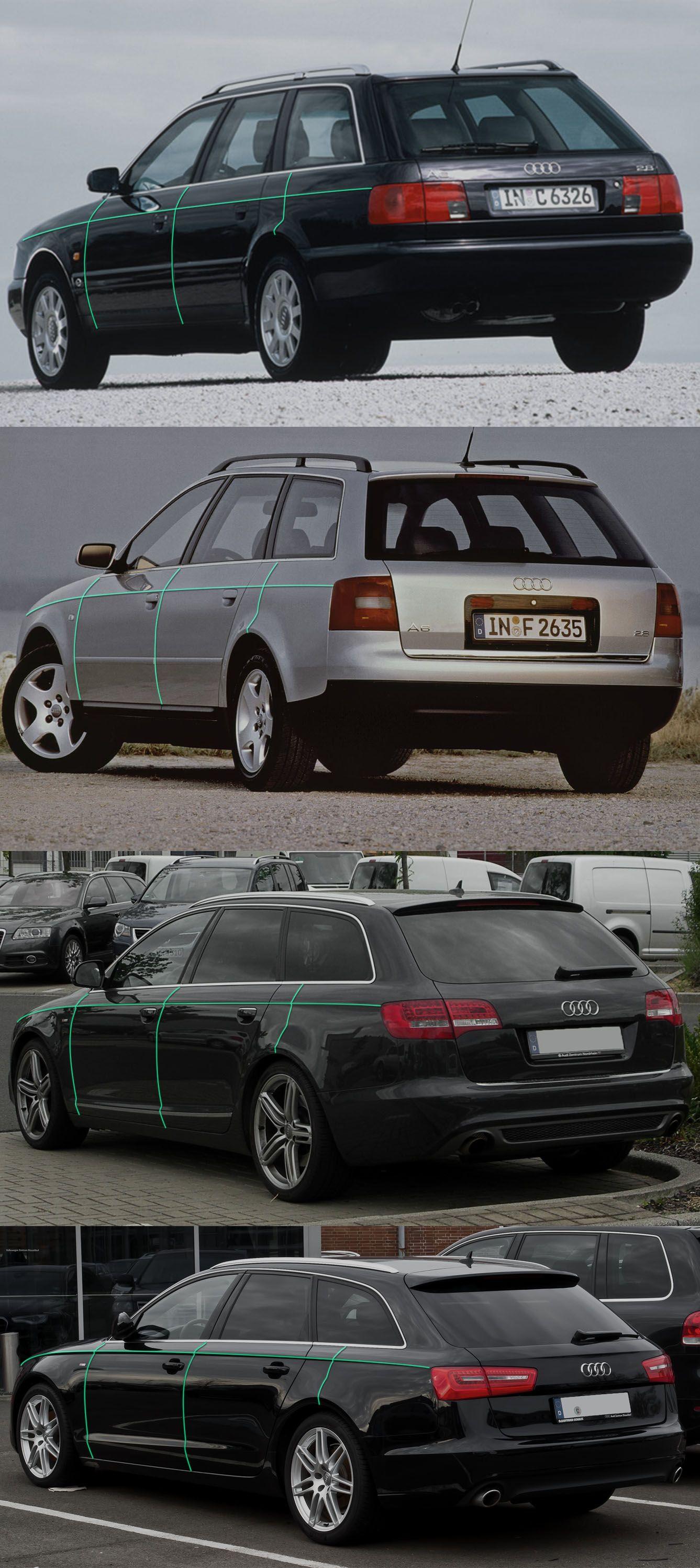Audi A6 Avant Pinch Evolution Automotive Styling Pinterest