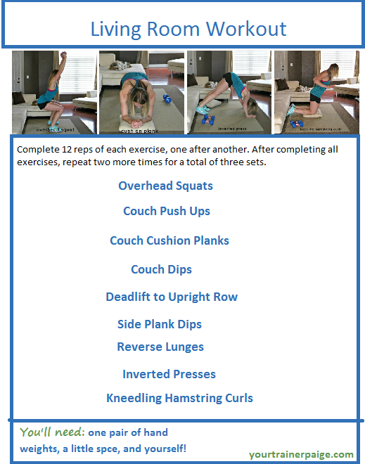 Living Room Workout | Workouts | Pinterest | Living room workout ...