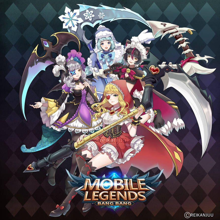 Ruby Mlbb By Reikanjuu Sama Alucard Mobile Legends Mobile Legends Mobile Legend Wallpaper