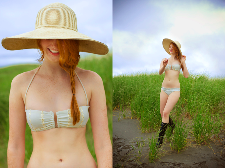 A beach shoot in Ocean Park, Washington. Photos by Lisa Warninger for Frolic! http://www.lisawarninger.com