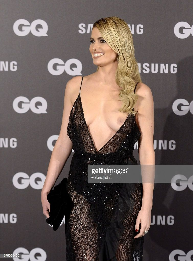 85921f56e3cc Adriana Abenia attends the 2017  GQ Men of the Year  awards at The... in  2018