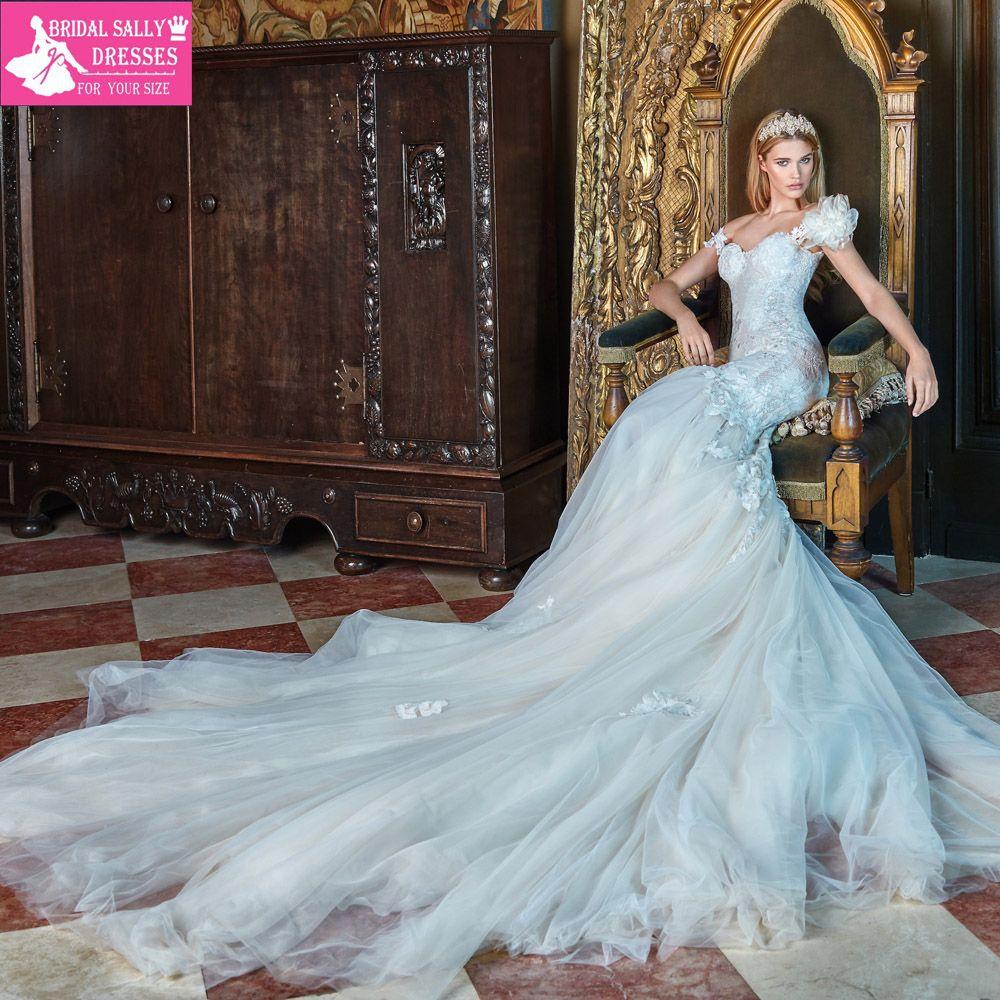 Mermaid Wedding Dresses 2017 Lace Wedding Gowns Robe De Mariee ...