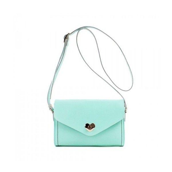 Zlyc Women S Heart Shaped Button Envelope Bag Shocking Pink