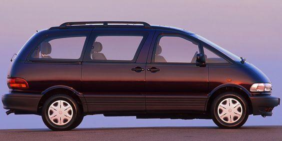 The 17 Coolest Vans Ever Made Toyota Previa Cool Vans Vans
