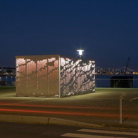 New Kiosque Saint Nazaire by Topos Architecture
