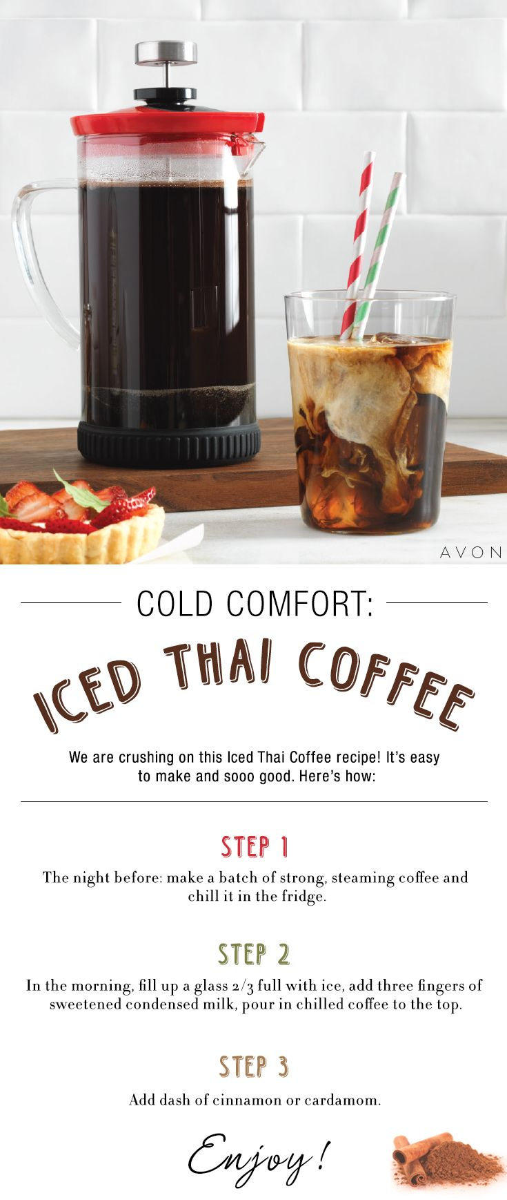 Switch up your morning coffee routine with our refreshing