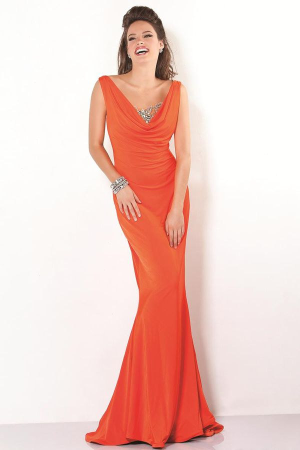 1000  images about Evening gowns on Pinterest  Chiffon evening ...