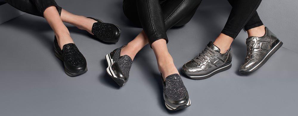 Découvrez la collection Automne Hiver Hogan toutes les chaussures  italiennes et les produits iconiques pour femme sur le Store Hogan en ligne.