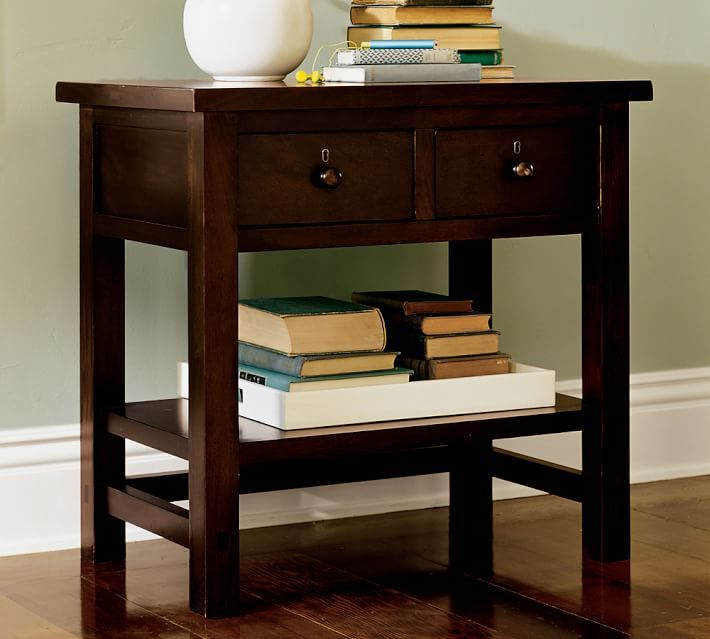 Bedside Tables With Drawers Farmhouse 2 Drawer Nightstand Pottery Barn Farmhouse Bedding Sets Farmhouse Bedding Bedside Table