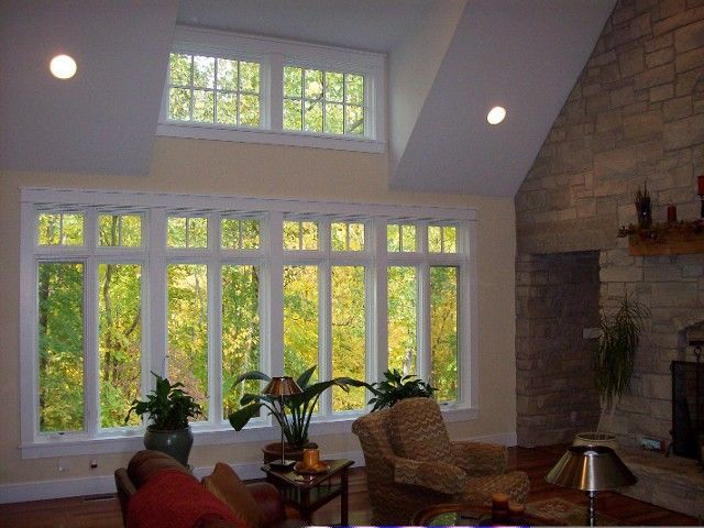 Image Result For View Of Dormers Inside Of Ranch Vaulted Ceiling Living Room Shed Dormer Great Rooms