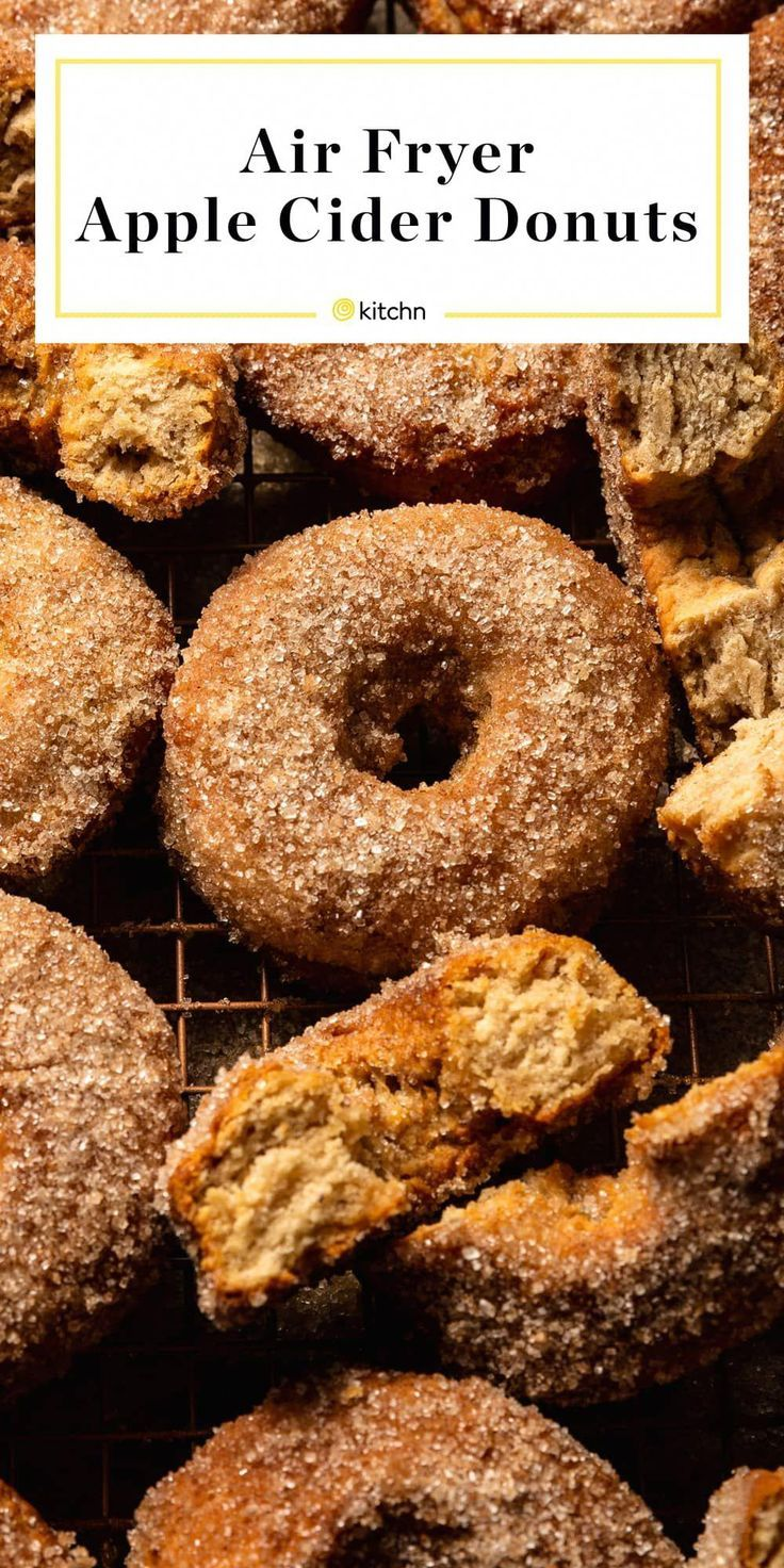 These Air Fryer Apple Cider Donuts Are Ridiculously Good