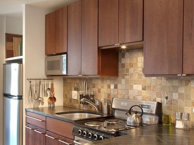 Modern Wall Tiles For Kitchen Backsplashes, Popular Tiled Wall Design Ideas