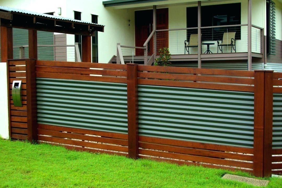 Inexpensive Modern Front Yard Fence Ideas Privacy Fence Designs