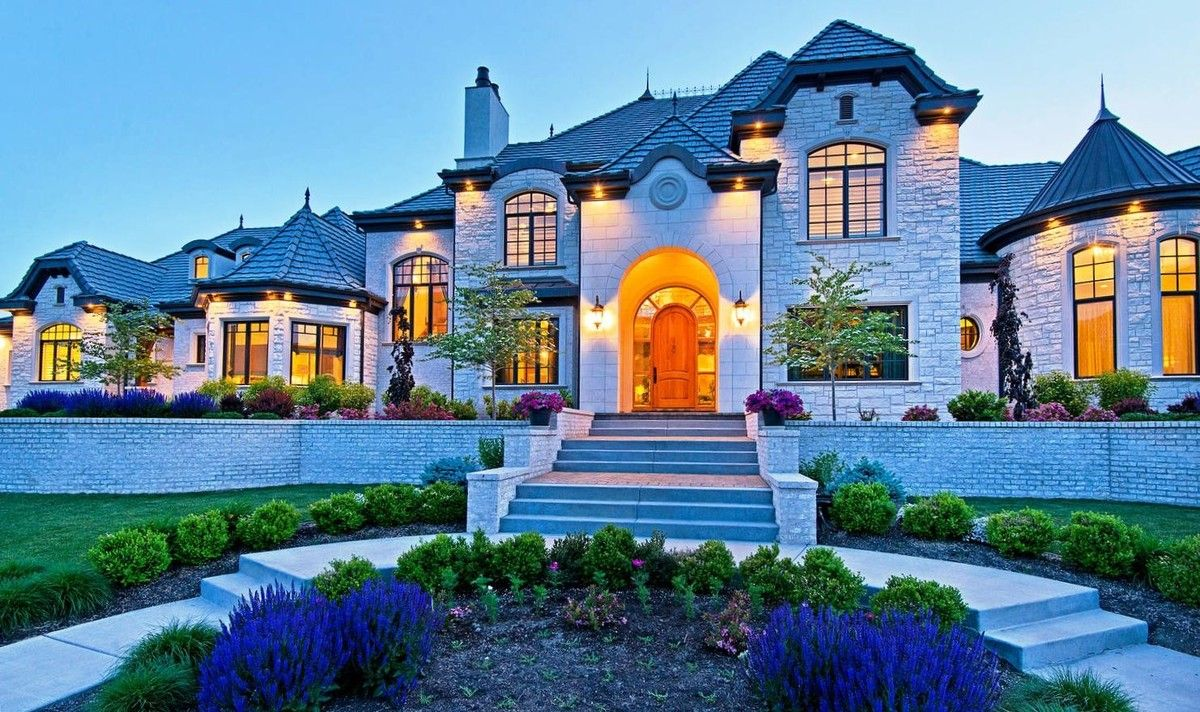 Now this is what quality curb appeal looks like house for Best homes in the world