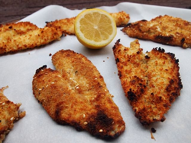 Breaded Baked Sole Fillets Sole Recipes Fish Recipes