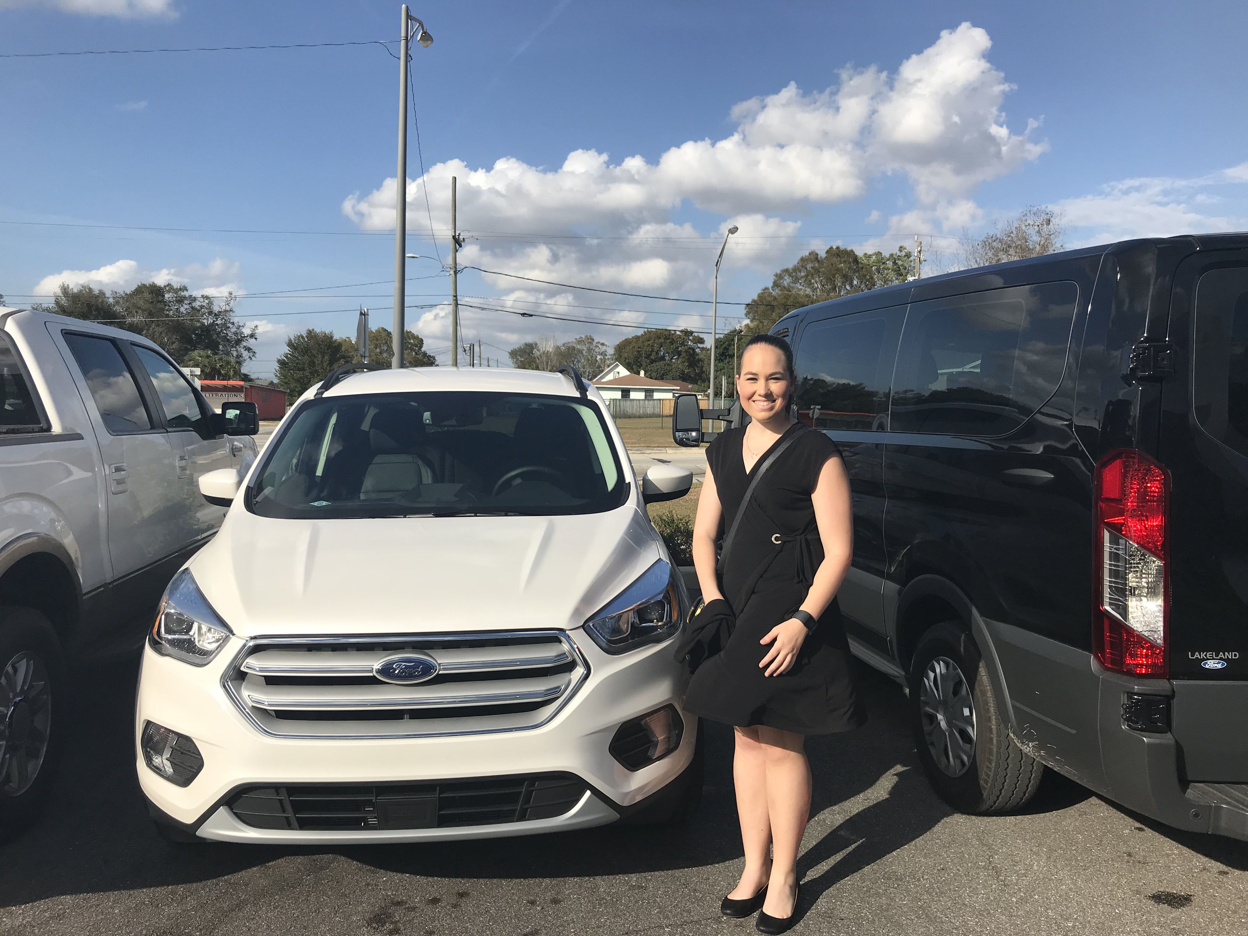 Big Thanks To Mrs Emily Mcmullen For Coming To Lakeland Ford And