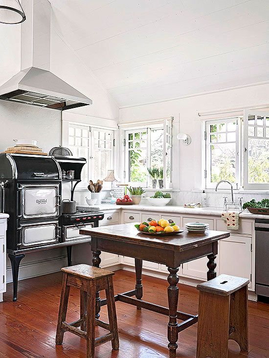 Cottage Kitchen Design Pleasing Cottage Kitchen Design Ideas  Kitchen Styling Stove And Kitchens Decorating Design