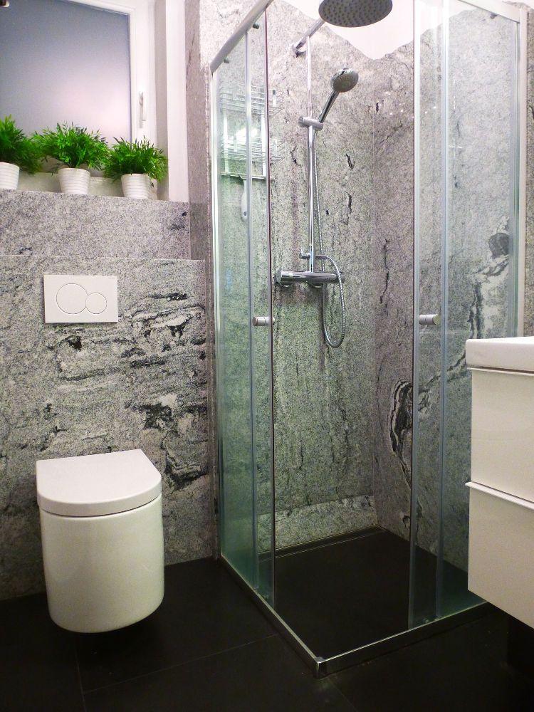 CasaFloor- Natursteinsystem Boden und Wand aus CasaFloor - dusche strukturwand