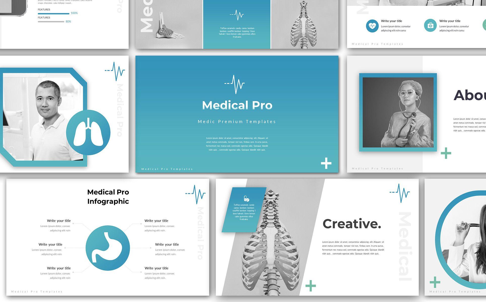 Medical Pro Keynote Template 76797 Keynote Template