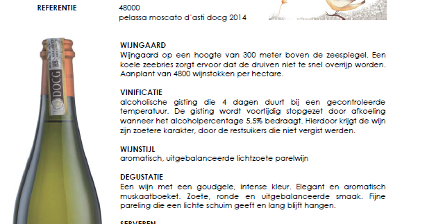 Zoete witte wijn: Pelassa Moscato d'Asti 38€/fles 6,60€/glas http://www.barbib.be/2016/10/zoete-witte-wijn-pelassa-moscato-dasti.html?utm_source=rss&utm_medium=Sendible&utm_campaign=RSS