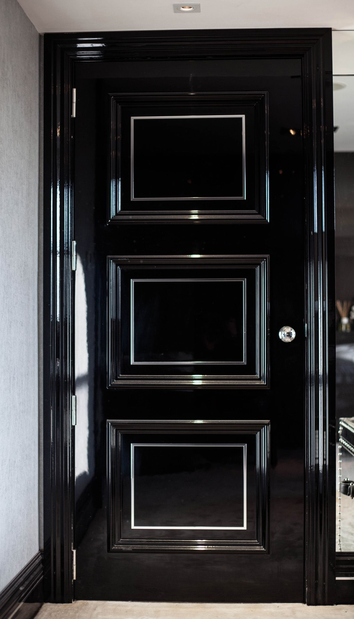 Black Bedroom Doors Bedroom Door Dreama Casa