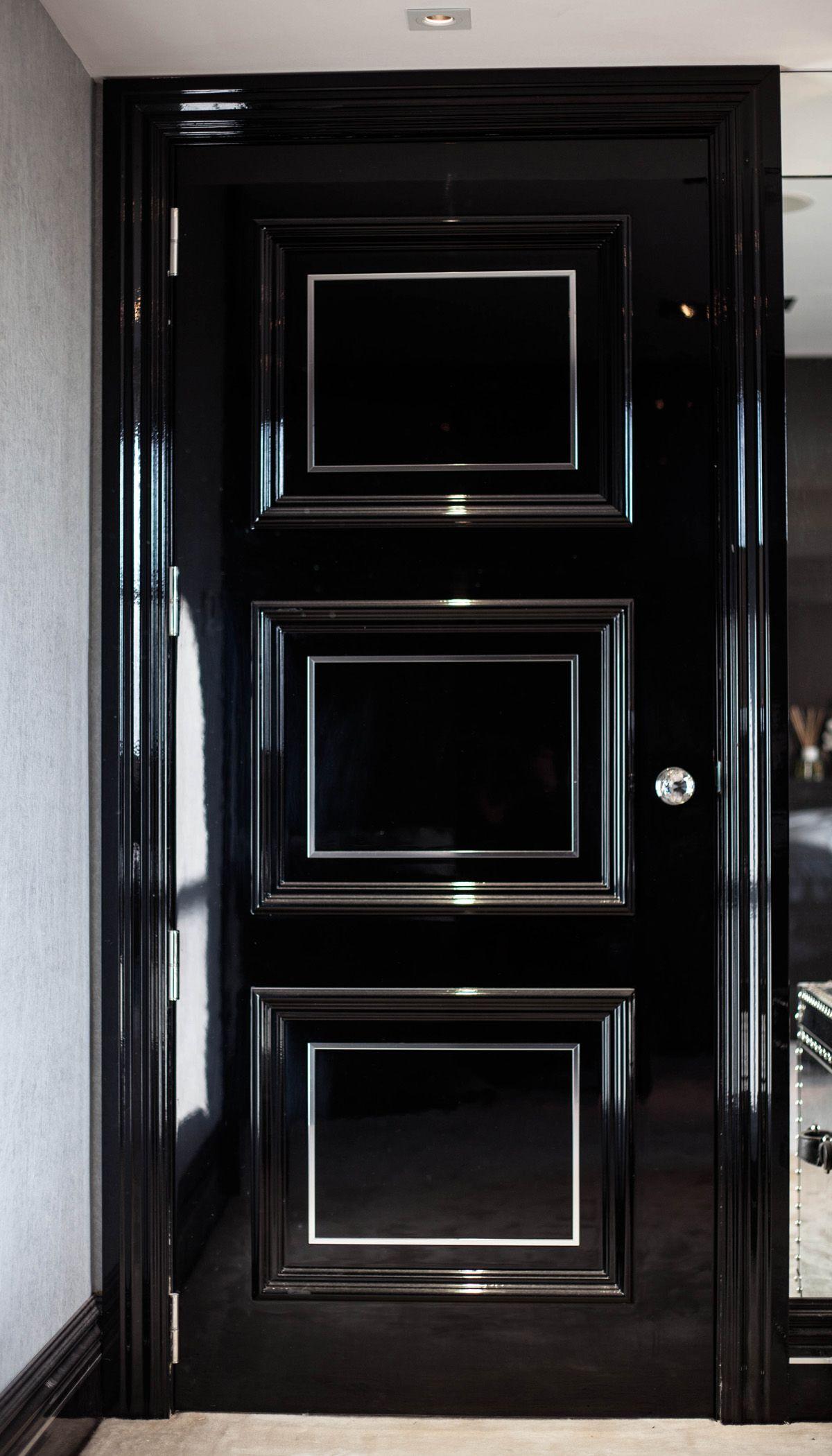 15 best Front door images on Pinterest | Cottage front ...  |Black Door Ideas