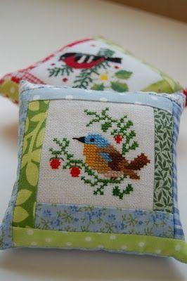 .So sweet: #birdfabric